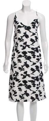 Balenciaga Sleeveless Printed Dress