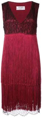 Prabal Gurung V-neck fringe dress