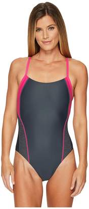 Speedo Relaunch Splice Flyback Women's Swimsuits One Piece