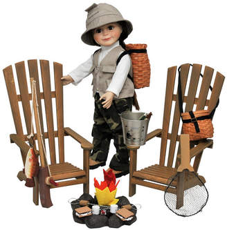 """Adirondack (アディロンダック) - The Queen's Treasures Complete 18"""" Doll Adirondack Outdoor Camping and Fishing Adventure 21 Piece Set"""