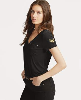Ralph Lauren Patch Jersey T-Shirt