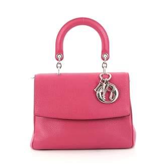 Christian Dior Pink Leather Handbag
