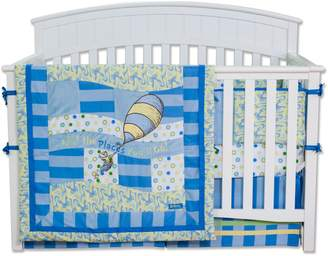 Trend Lab Dr. Seuss 4 Piece Crib Bedding Set, Oh! The Places You'll Go!
