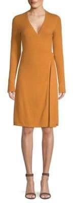 Diane von Furstenberg New Linda Knit Cashmere Wrap Dress
