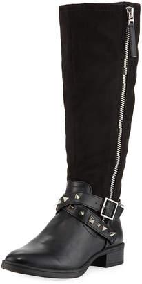 Sam Edelman Portia Mid-Calf Studded Strap Boots