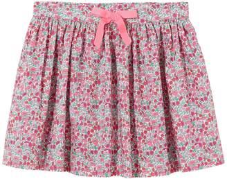 Jacadi Mela Floral Bow Cotton Skirt