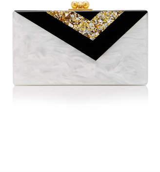 Edie Parker Exclusive Vee Clutch