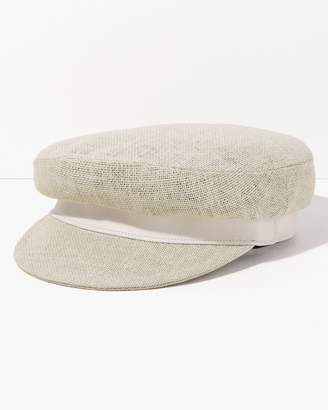 7 For All Mankind Brook Cap in Off White