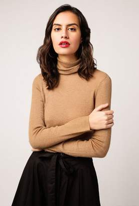 T Neck Basic Sweater