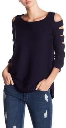 Sweet Romeo Cage Sleeve Sweater