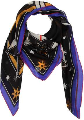Givenchy Lightening Printed Silk Chiffon Scarf