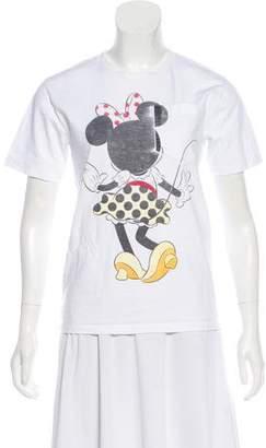 Victoria Beckham Minnie Mouse Crew Neck T-Shirt