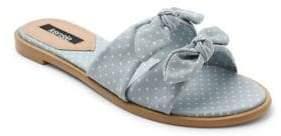 Kensie Millard Bow Sandals