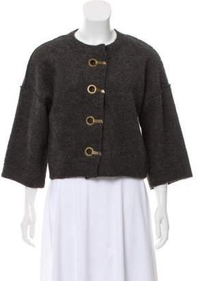Lanvin Alpaca & Wool-Blend Jacket