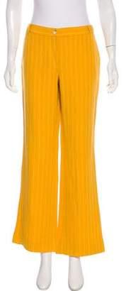 MICHAEL Michael Kors Mid-Rise Linen-Blend Pants