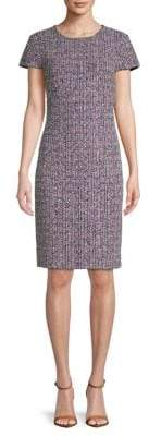 St. John Tweed Shift Dress
