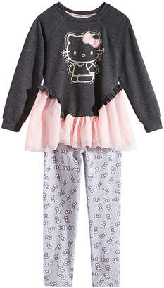 Hello Kitty Toddler Girls 2-Pc. Graphic-Print Top & Leggings Set