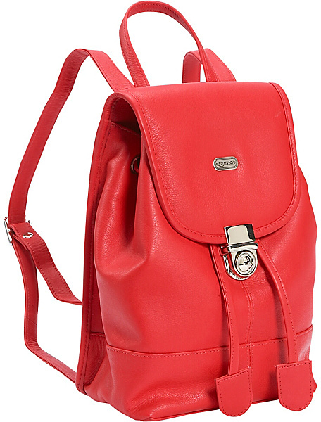 Leatherbay Leather Mini Backpack Purse