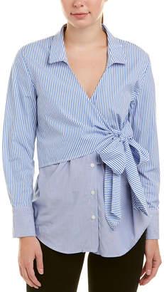 Bardot Wrap Tie Top