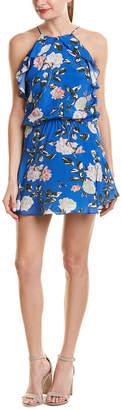 Karina Grimaldi Lulu Silk-Blend Shift Dress