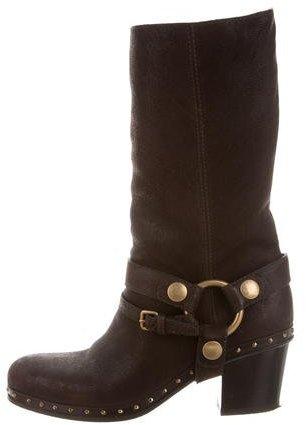 Miu MiuMiu Miu Capra Antic Boots