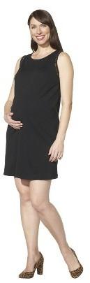 Maternity Sleeveless Sheath Dress