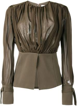 Chloé loose flared blouse