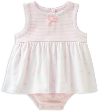 Absorba Girls' Stripe Dot Sunsuit Dress - Baby