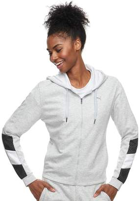Puma Women's Ace Sweat Hooded Zip-Up Jacket