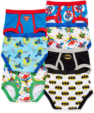 JCPenney LICENSED PROPERTIES Superfriends 7-pk. Briefs - Toddler Boys 2t-4t
