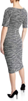 Maggy London Bateau-Neck Fitted-Sheath Dress
