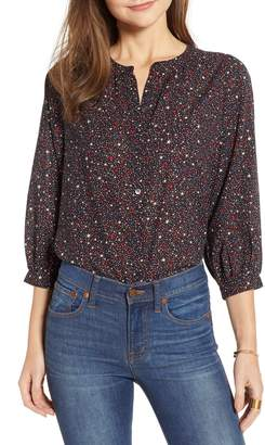 Madewell Starry Night Peasant Top