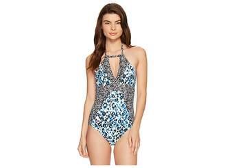 Splendid Tropic Spots One-Piece Women's Swimsuits One Piece
