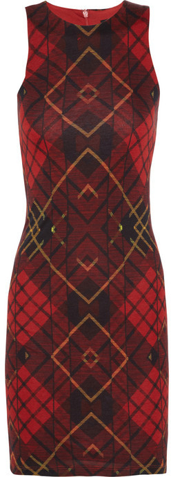 McQ by Alexander McQueen Printed jersey dress