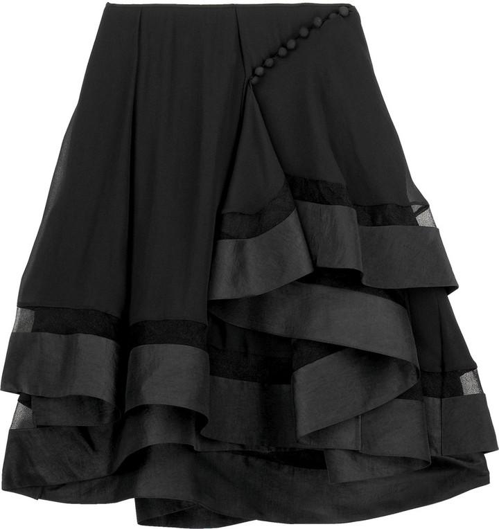 Chloé Flippy mini skirt