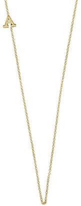 Effy 14K Yellow Gold Asymmetrical Initial Necklace