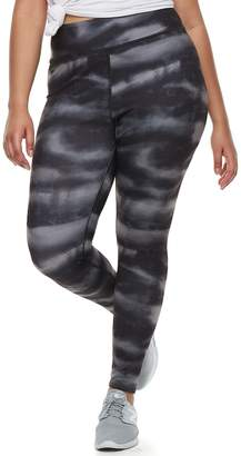 So Juniors' Plus Size SO Graphic High-Waist Yoga Leggings