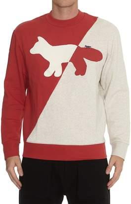 MAISON KITSUNÉ Diagonal Fox Sweatshirt