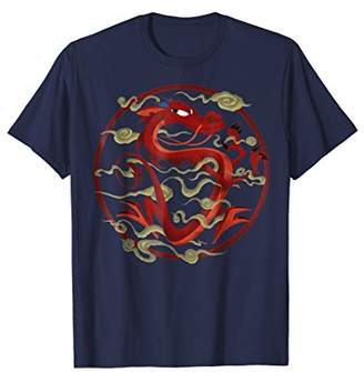 Disney Mulan Mushu Inner Circle Graphic T-Shirt