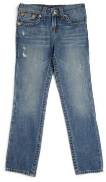 True Religion Boy's Geno Single End Jeans $79 thestylecure.com