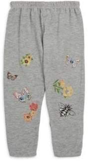 Lauren Moshi Little Girl's Butterfly Sweatpants