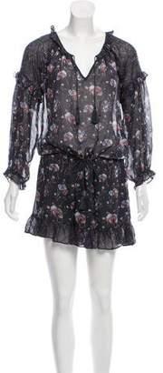 Ulla Johnson Semi-Sheer Silk Mini Dress