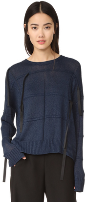 Helmut Lang Textured Sweater $520 thestylecure.com