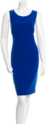 Albert Nipon Sleeveless Sheath Dress $95 thestylecure.com
