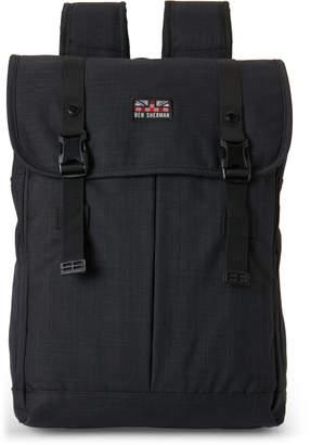 Ben Sherman Navy Foldover Computer Backpack