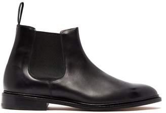 Tricker's Roxbury Leather Chelsea Boots - Mens - Black