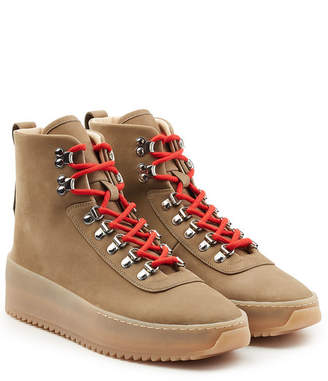 Fear Of God High Top Suede Hiking Sneakers