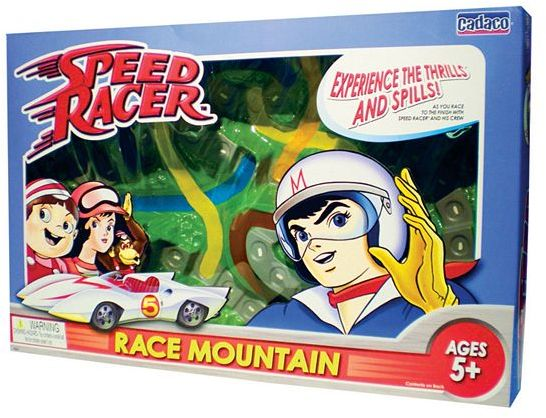 Cadaco® Speed Racer™ Speed Mountain Racing Game