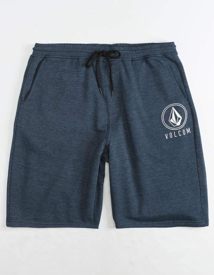 Volcom Rainmaker Mens Navy Sweat Shorts