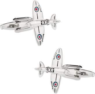 Spitfire Plane Airplane Aviation Cufflinks by Cuff-Daddy